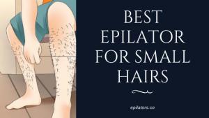 best epilator for small hair